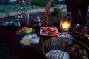Breakfast at Damaraland Adventurer Camp