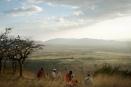 Walking with Maasai warriors at Nduara Loliondo, Tanzania