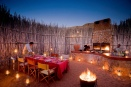 Boma dinner at Tswalu Kalahari