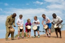 Drumming to the beat of Africa at Little Kulala, Namibia