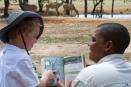 Bush education at Ongava Tented Camp, Namibia