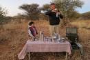 Cocktail time at Madikwe Safari Lodge, South Africa