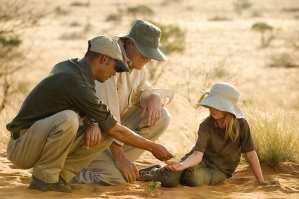 "Searching for the 'Small Five"" at Tswalu Kalahari, South Africa"